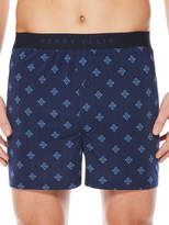 Perry Ellis Geo Tile Print Boxer Short