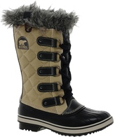 Sorel Tofino Cate Quilted Faux Fur Cuffed Boots