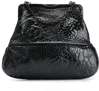 Fendi Pre-Owned 1990's crocodile embossed tote