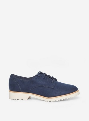 Dorothy Perkins Womens Wide Fit Navy 'Lush' Brogues