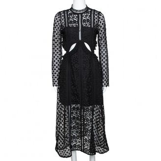 Self-Portrait Black Synthetic Dresses