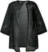 Les Copains embroidered coat