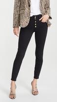 Good American Good Waist Button Fly Jeans