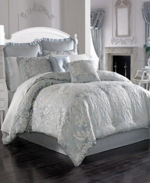 J Queen New York Five Queens Court Faith King Comforter Set Bedding