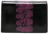 Saint Laurent Toy Kate Snakeskin Monogramme Strap Wallet Bag