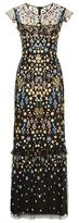 Needle & Thread Flower Embroidered Maxi Dress
