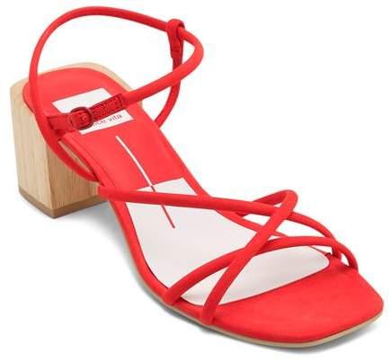 961529c8e7781 Red Block Heel Women's Sandals - ShopStyle