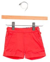 Little Marc Jacobs Girls' Mid-Rise Cuffed Shorts