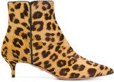 Aquazzura leopard print Quant boots