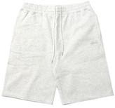 Stussy Stock Fleece Short (White Heather) [112200-Whth]