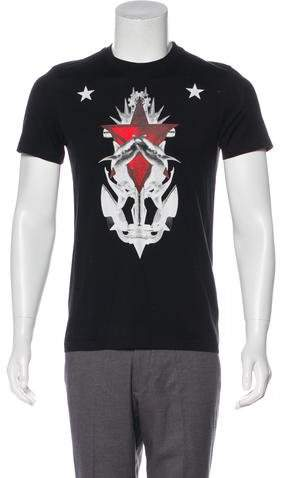 Givenchy Shark Print T-Shirt