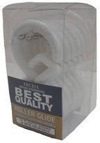 Ex-Cell Best Quality Roller Glide Hook, Frosty