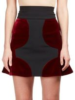 Roland Mouret Flutter-Hem A-Line Skirt