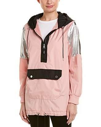 Urban Republic Women's Windbreaker Jacket W/Kangaroo Pocket