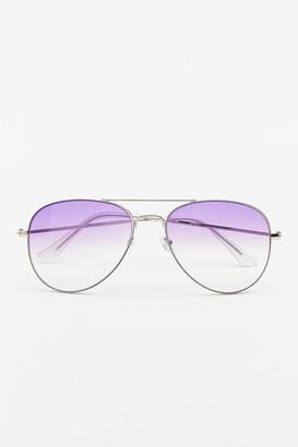 Urban Outfitters Tess Metal Aviator Sunglasses