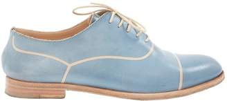 Fratelli Rossetti Blue Leather Lace ups