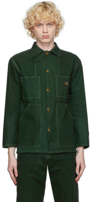 Marc Jacobs Green Stan Ray Edition Workwear Jacket