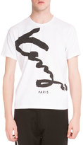Kenzo Signature Logo-Print Short-Sleeve T-Shirt, White