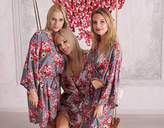 Etsy Luxurious Cotton Bridal Robes, Bridesmaid Gift, Floral Robes, Bridesmaid Robe, Wedding Robes, Kimon