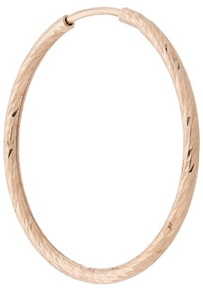 Maria Black 14kt yellow gold Liv 20mm hoop earring