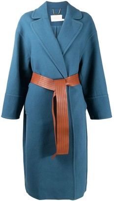 Zimmermann Belt-Fastening Knitted Coat