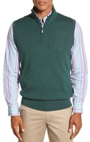 Bobby Jones Men's Quarter Zip Wool Sweater Vest