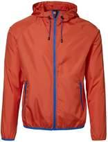 ID Mens Lightweight Fitted Windbreaker Jacket With Packaway Bag (XL)