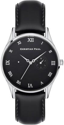 Christian Paul Classical Roman Silver Watch