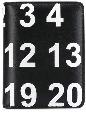 Maison Margiela number print card holder
