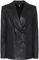 STOULS Jones leather blazer