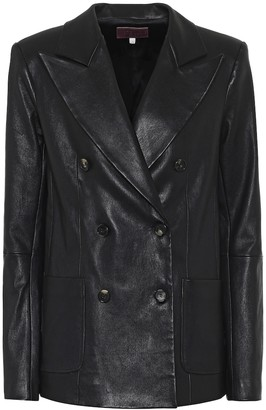 STOULS Jones leather blazer