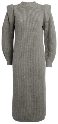 Isabel Marant Cashmere-Wool Bea Midi Dress