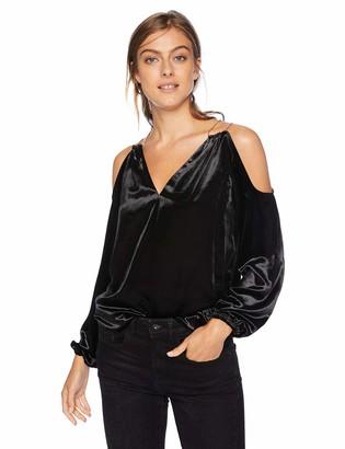 Ramy Brook Women's Embellished Velvet Gigi Blouse