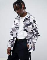 Dickies Summerfield Camo Coach Jacket With Reflective Back print