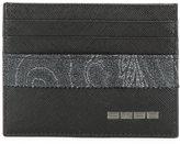 Etro metallic strap cardholder