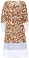 Tory Burch Floral cotton midi dress