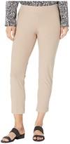Eileen Fisher Petite Slim Ankle Pants with Yoke (Bramble) Women's Casual Pants