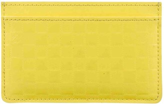 Louis Vuitton Yellow Leather Small bags, wallets & cases
