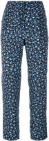 Max Mara cropped printed trousers