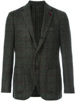 Lardini 'Supersoft' checked blazer - men - Polyamide/Polyester/Viscose/Wool - 52