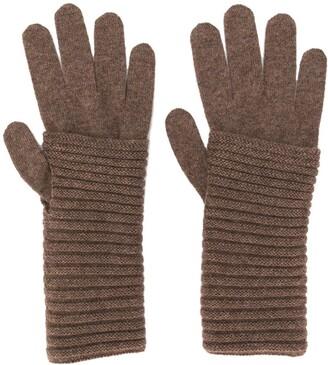Blanca Vita Knitted Cashmere Gloves