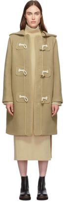 See by Chloe Brown Duffle Coat