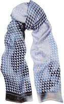 Proenza Schouler Printed silk-satin scarf