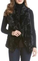 Karen Kane Women's Faux Fur Vest
