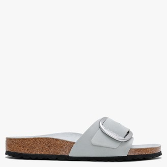 Birkenstock Madrid Big Buckle Mineral Leather Mules