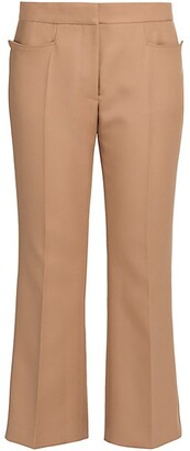 Stella McCartney Carlie Cropped Flare Trousers