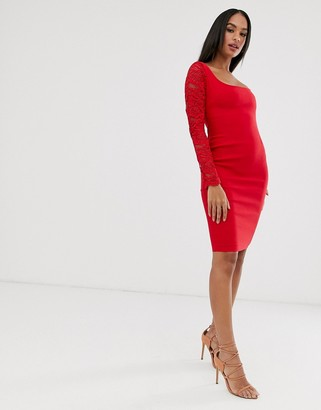 Vesper square neck dress