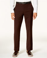 INC International Concepts Men's Slim-Fit Cross-Hatch Pants, Created for Macy's