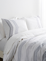 Melange Home Vail Embroidered Duvet Set