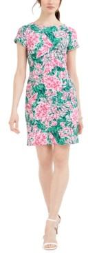 Pappagallo Victoria Floral-Print Sheath Dress